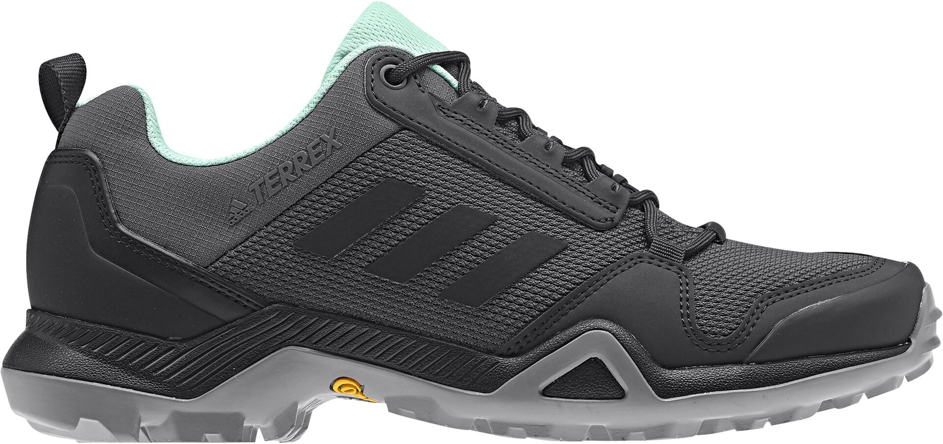 adidas TERREX AX3 Wandelschoenen Lightweight Dames, grey five/core  black/clear mint